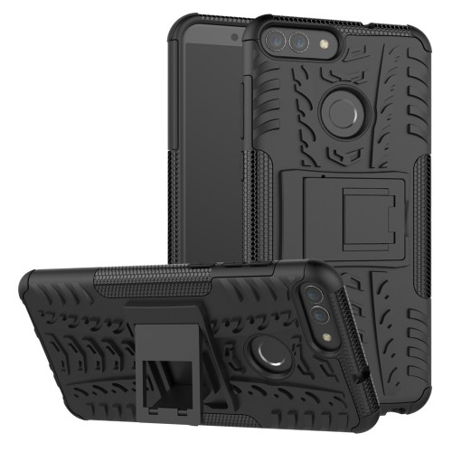 Case Huawei Nova 2 Lite - Honor 7C Rugged Armor Stand / Hybrid / Dazzle Cover / Shockproof