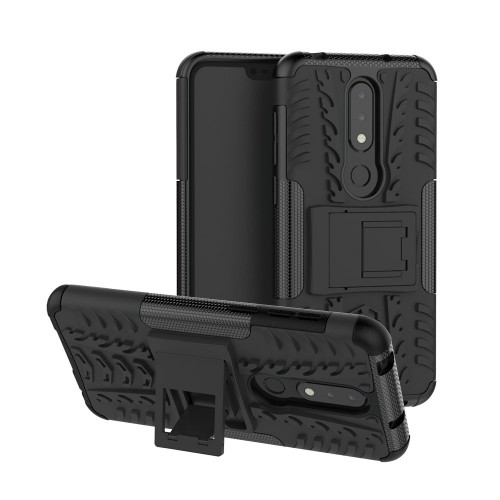 Case Nokia X6 / Nokia 6.1 Plus / Rugged Armor Stand / Hybrid / Dazzle Cover / Shockproof