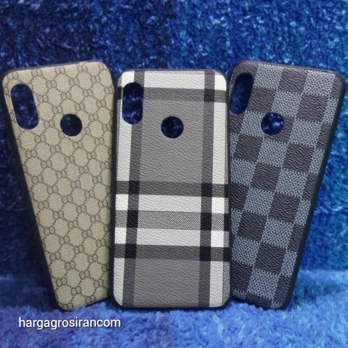 Case Pocket Xiaomi Redmi 6 Pro - Mi A2 Lite - Fuze Case Motif LV / Gucci - Ver.9