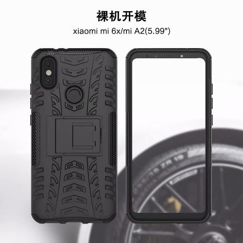 Case Xiaomi Mi6X - A2 - Rugged Armor Stand / Hybrid / Dazzle Cover