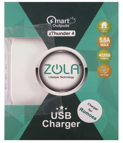 Charger / Batok Adaptor zThunder 4T / ZU4M Zola - 4 Output