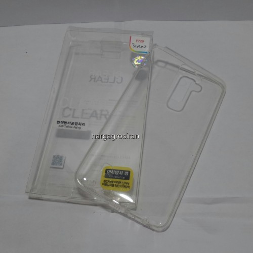Clear Jelly LG Stylus 2 Mercury Goospey - Anti Jadi Kuning / Back Case / Silikon / Softshell