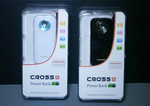 PowerBank Cross 5800mah