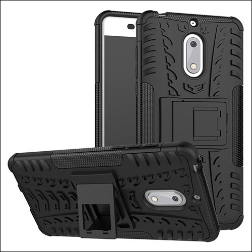 Case Nokia 6 - Rugged Armor Stand / Hybrid / Dazzle Cover