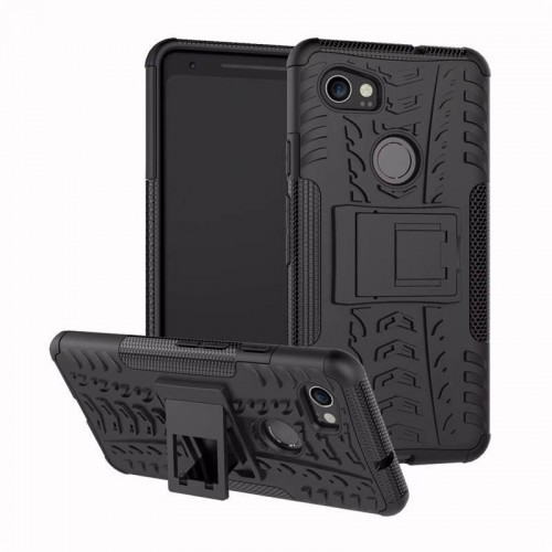 Dazzle Google Pixel 2 - Rugged Armor Stand / Hybrid / Dazzle Cover / Shockproof