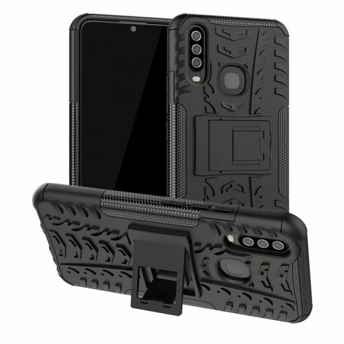 Dazzle Vivo Y12 / Y15 / Y17 - Rugged Armor Stand / Hybrid / Dazzle Cover / Shockproof
