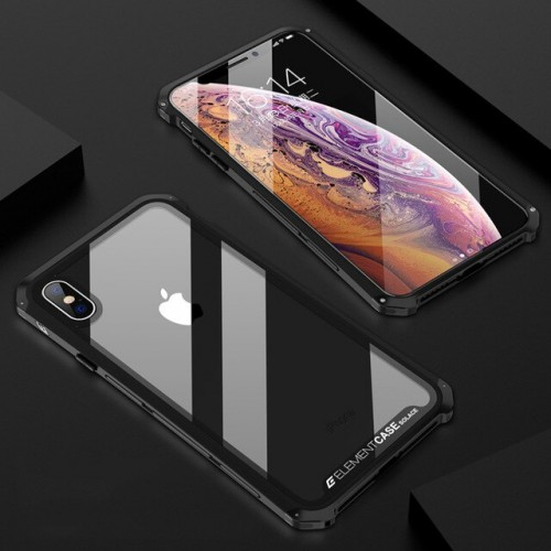 Element Case Iphone XS - Solace Glass Ver.2 / Packing Eksklusif - STGRS