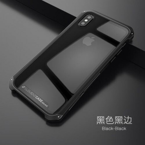 Element Case Iphone Xs Max - Solace Glass Ver.2 / Packing Eksklusif - STGRS