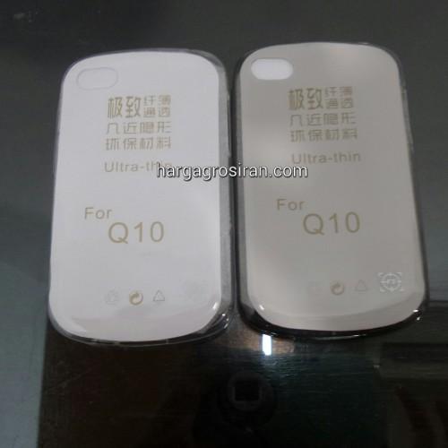 FS Softshell Ultra thin TPU Blackberry Q10 - Kualitas tidak jamuran