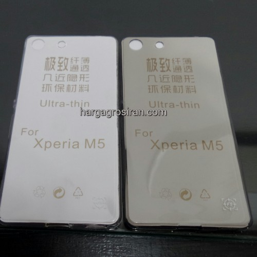 FS Softshell Ultra thin TPU Sony Xperia M5 - Kualitas tidak jamuran