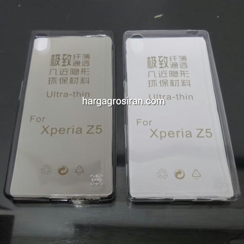 FS Softshell Ultra thin TPU Sony Xperia Z5 - Kualitas tidak jamuran