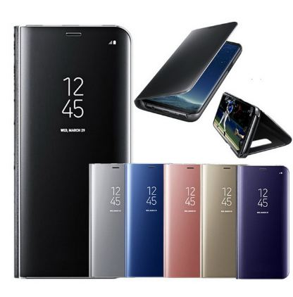 Flip Cover Samsung Galaxy HP Note 8 - Full View Stand + IC / Clear Cover Stand + IC