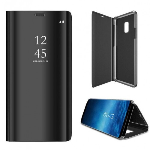 Flip Cover Samsung Galaxy S9 Plus - Full View Stand + IC / Clear Cover Stand + IC