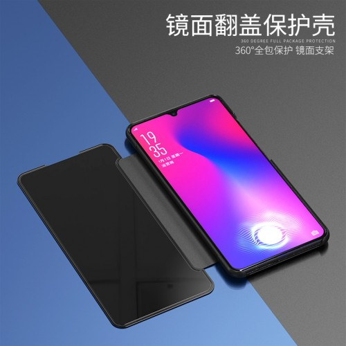 Samsung Galaxy A10 Flip Cover / Full View Stand / Clear Cover Stand