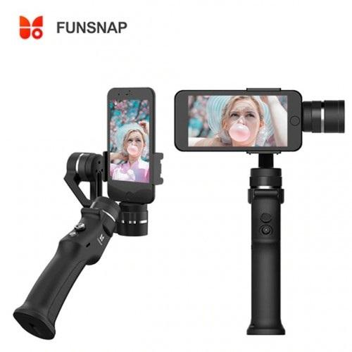 Funsnap Capture 3 Gimbal 3 Axis Stabilizer Untuk Smartphone Dengan Fitur Baterai Removable