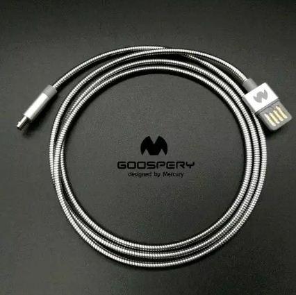 Kabel Lightning Iphone - Fast Charging - GOOSPERY Lightning Cable 100CM