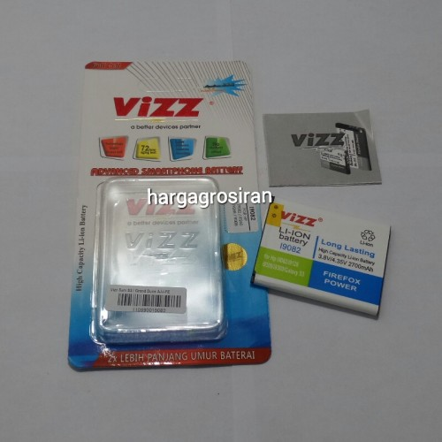 Vizz Samsung S3 / Grand Duos - i9082 / s3 / i9300 / i9308 / i939 Baterai Double Power