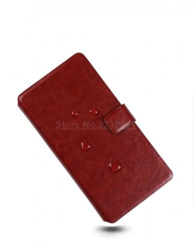 Xiaomi Mi Max 2 - Sarung Kulit FS Leather Case Blue Moon Ada Kancing dan Pinggiran Jahitan Cover
