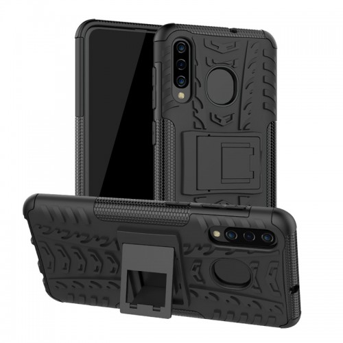 Samsung A30 / A50 - Rugged Armor Stand / Hybrid / Dazzle Cover / Shockproof