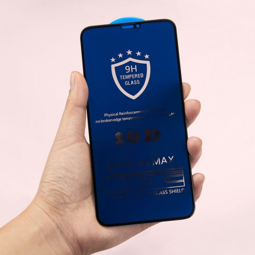 10D Anti spy peeping full cover tempered glass for iPhone XS Privacy