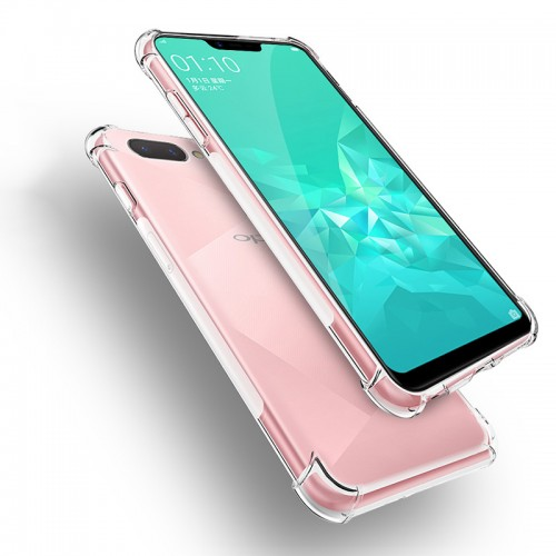 Anti Crack Fuze Oppo A3s / RealMe C1 Bening -  ShockProff / Anti Shock Case