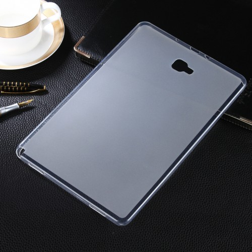 SoftShell / Silikon Ultra thin Tab A 10.5 / P585  - Back cover / Luxury Warna Bening Tablet Case