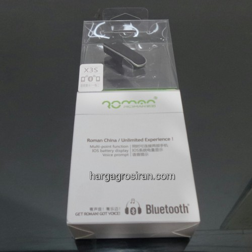 HandsFree Bluetooth Stereo X3S - Universal - Roman