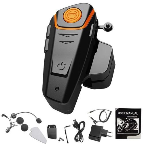 Helm Bluetooth Interphone 1000M Motorcycle / Intercom Motor Raider Touring - STRPT