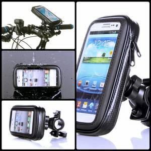 Bike Holder / Holder Stang Sepeda Untuk Handphone 5 Inch - Samsung - Lenovo