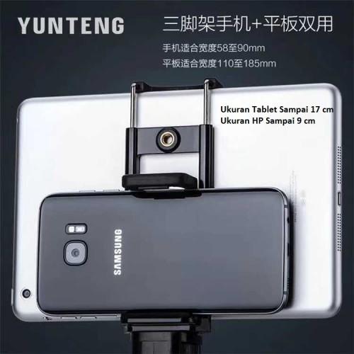 HRT-003 - Holder Tablet 2 in 1 Bisa Pasang Berbarengan sama Handphone