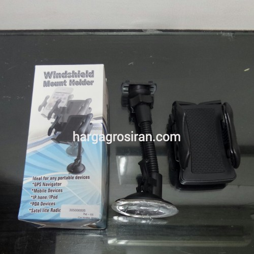 Car Holder / Holder Mobil Model Angsa For Smartphone Ukuran 4 Inch - 6 Inch