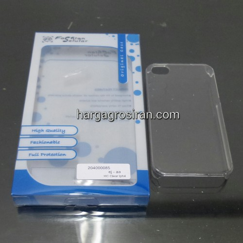 Hardcase Bening FS Iphone 4 / 4s / Warna Transparan / Clear / Back Cover