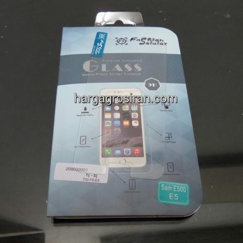 Tempered Glass FS Samsung E5 / Anti Gores Kaca