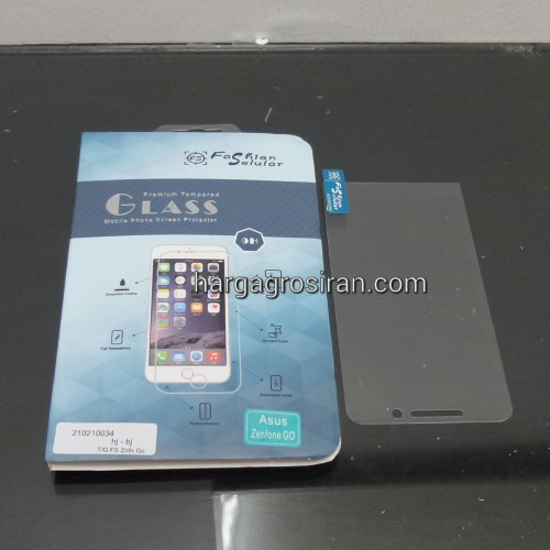 Tempered Glass FS Asus Zenfone GO / Anti Gores Kaca