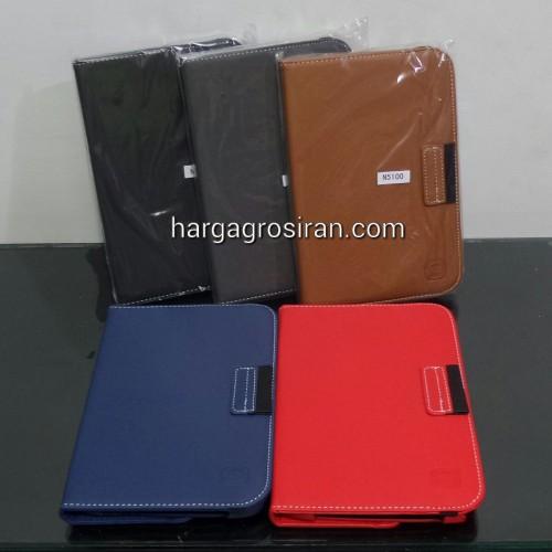 Sarung Rotary FS Samsung Galaxy Note 8 / Tablet N5100 / Bisa Muter 360 derajat Bahan Jeans Jahitan