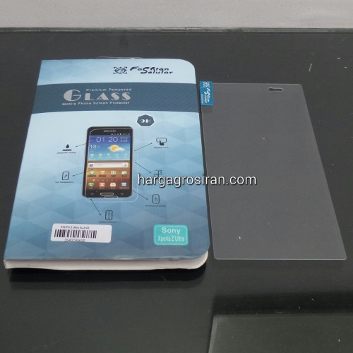 Anti Gores Kaca / Tempered Glass FS Sony Xperia Z Ultra XL36H