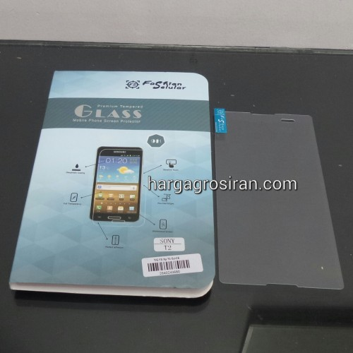 Tempered Glass FS  Sony Xperia T2 / Anti Gores Kaca