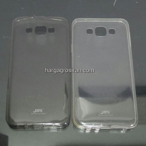 Jzzs SoftShell Ultra thin Samsung Galaxy E7 Kualitas Tidak Jamuran - STDIS