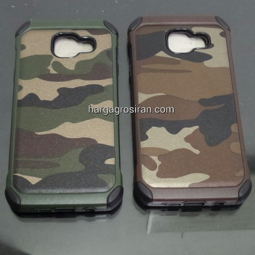 Slim Army Samsung Galaxy A3 2016 / A310 - Back Case / Cover Armor / Loleng TNI / Abri / Brimob / Ten