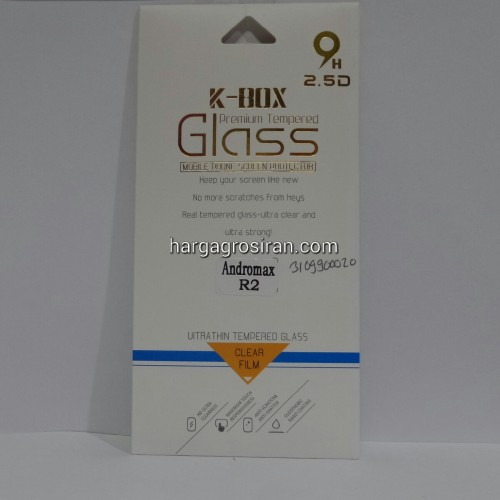Anti Gores Kaca / Tempered Glass Andromax R2 - STNEW