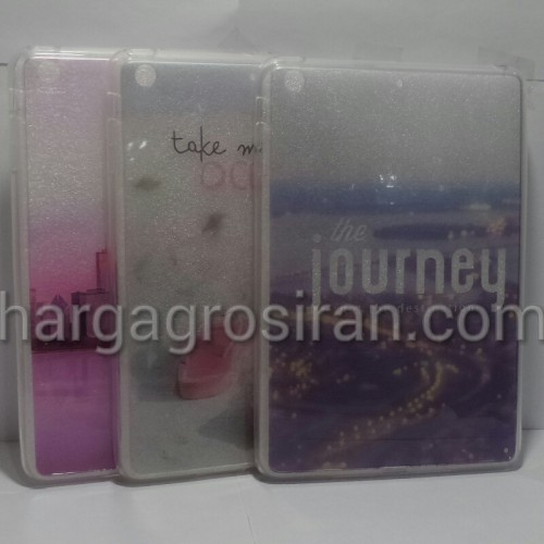 Fuze Motif Ipad Mini 1/2/3 Softshell / Silikon / Back Case / Cover Transparan