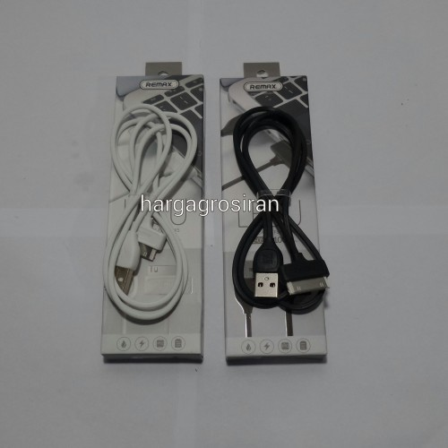 Kabel Remax Tipe LESU RC-050 Fast Charge For Iphone 4 / 4s / Ipad 1/2/3 - Charger / Data