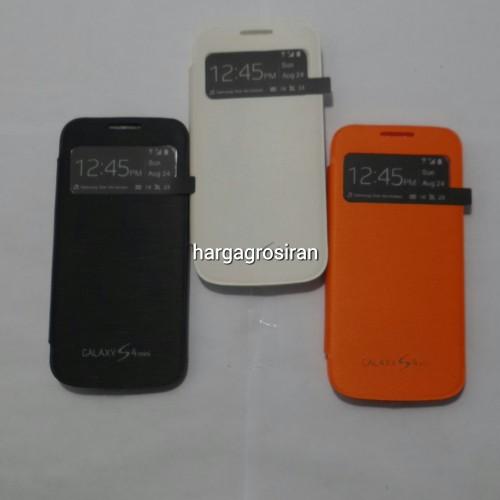 Obral Flip Cover Samsung S4 Mini - View Notifikasi dan Telp Masuk - K1009