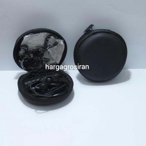 Bluetooth HandsFree Sport Stereo  - Wireless Earphone / Headset Bluetooth + Tempat Simpannya