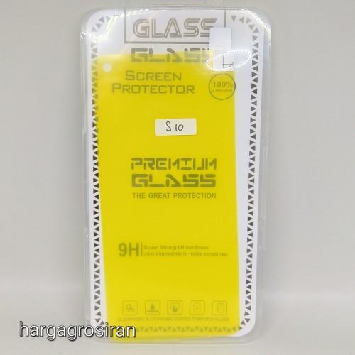Anti Shock / Anti Gores Karet Untuk Samsung Galaxy S10 Full Cover
