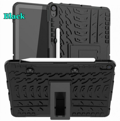 Ipad Air 4 10.9 4th Inch Gen 2020 Rugged Case Defender Stand Armor / Hybrid / Dazzle Cover / Shockproof Case Aman Tahan Banting