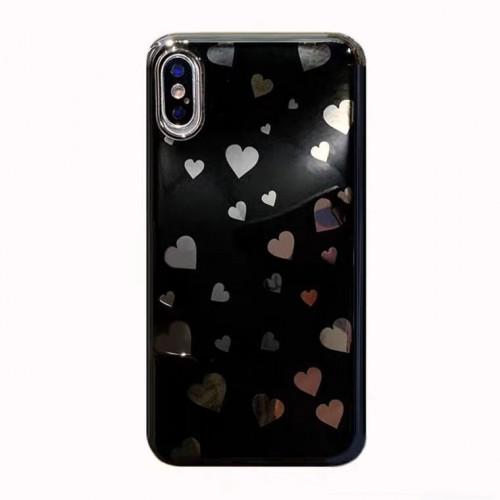 Vivo V15 - Motif Love Case Design Lucu dan Simple dengan Perpaduan warna menawan Ver.18