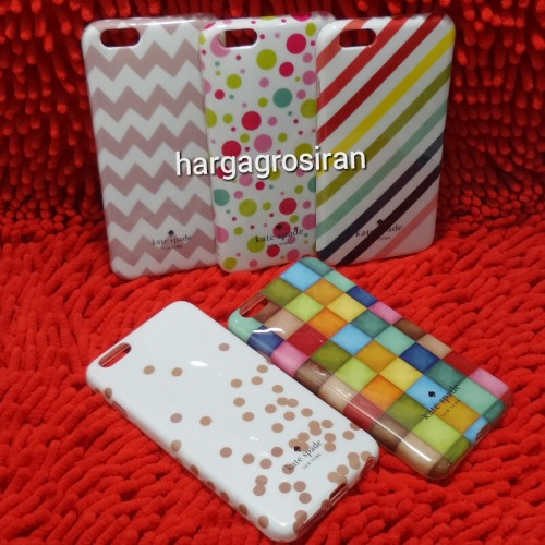 Kate Spade Iphone 6 Plus / 6s Plus - Softshell / Silikon Motif / Back Case / Cover