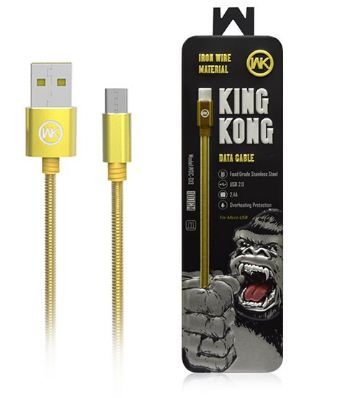 Kabel WK Kingkong WDC-013 100CM - Kabel Micro USB 2.4A Charger