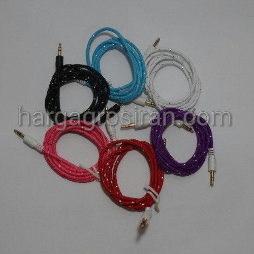 Kabel Audio Biasa / AUX